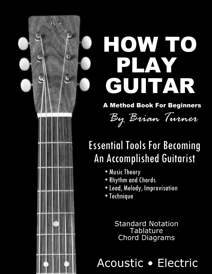 Pretty Book Cover Guitar : How to play guitar a method book for beginners by brian